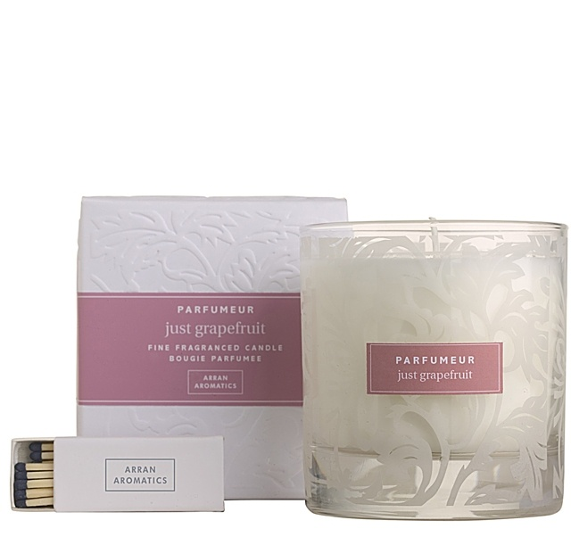 Gifts  - Just Grapefruit Candle in Glass 38cl £19.50