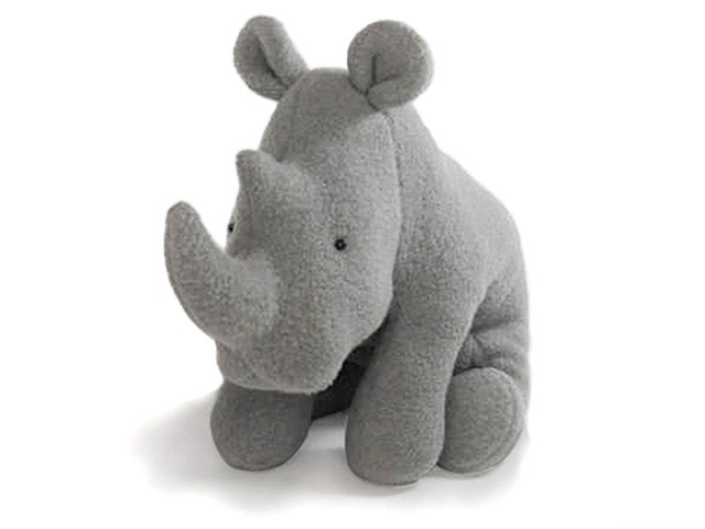 RHINO Soft Toy Pattern PDF. $12.00, via Etsy.