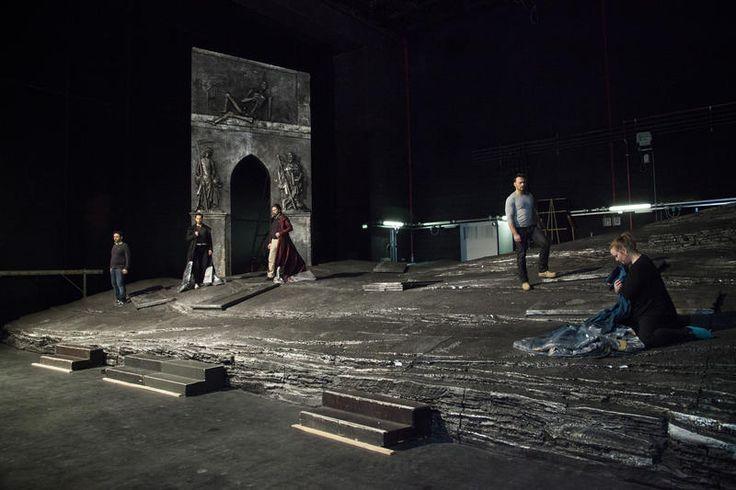 Prove di scena ©Pietro Paolini/TerraProject/Contrasto #PuritaniOF www.operadifirenze.it/events/i-puritani