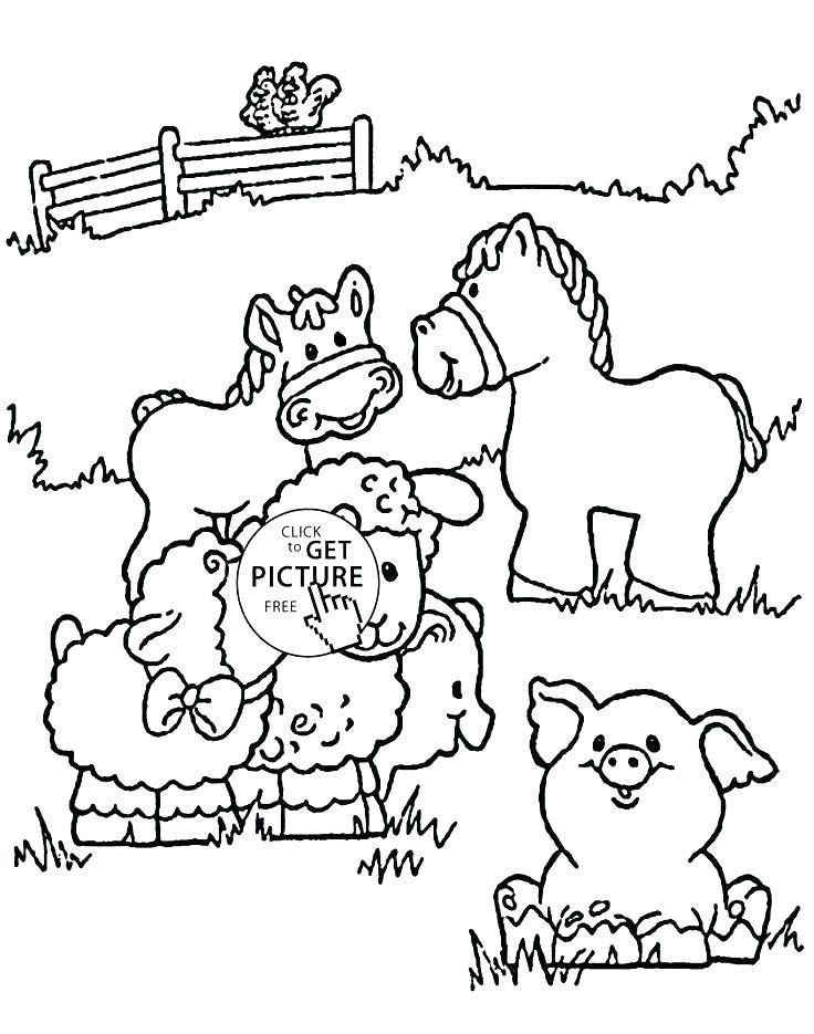 Farm Animal Coloring Pages For Toddlers Farm Animal Coloring Pages For Toddlers At Getdrawi Farm Animal Coloring Pages Farm Coloring Pages Horse Coloring Pages