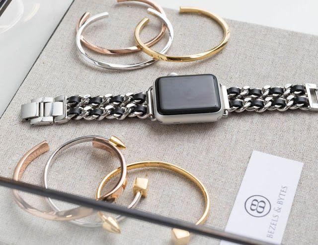 Tu Smartwatch de Apple será más elegante con estas correas  joya de gran estilo