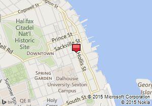 Map of Budget Location:Halifax