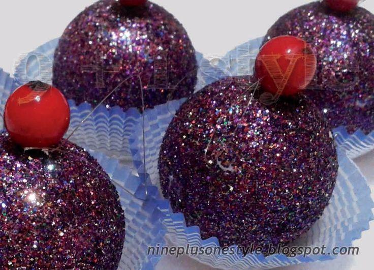 Cupcakes di polistirolo