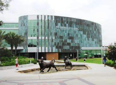 Learn About the University of South Florida and What It Takes to Get In: Marshall Student Center at the University of South Florida