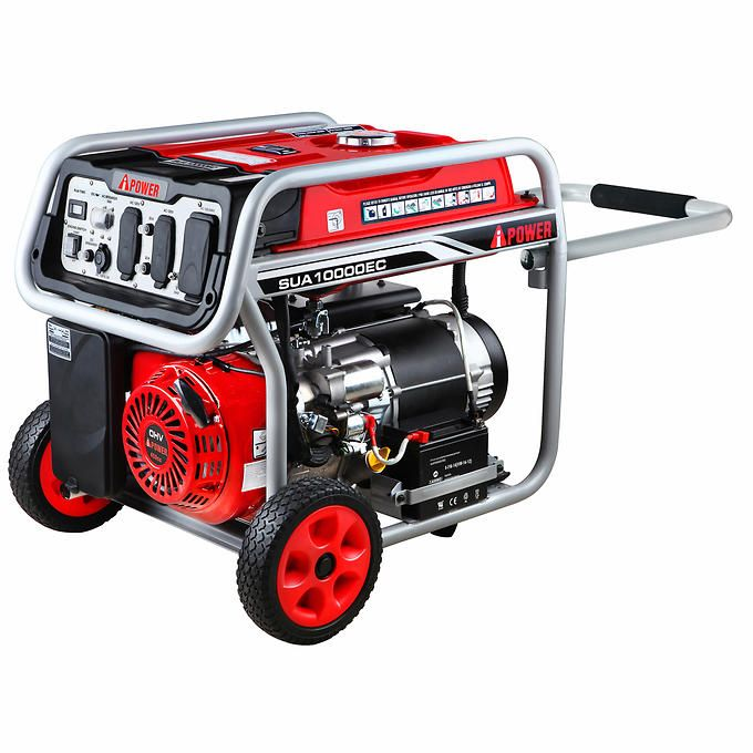 A-iPOWER 8,200W Running / 10,000W Peak Electric Start Portable Generator