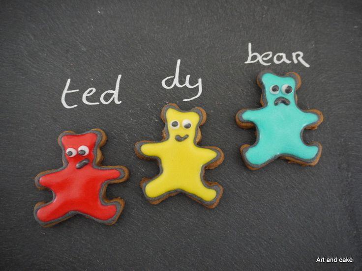 Teddy beer koekjes
