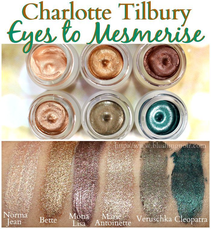 Charlotte Tilbury Eyes to Mesmerise Cream Eyeshadow Swatches