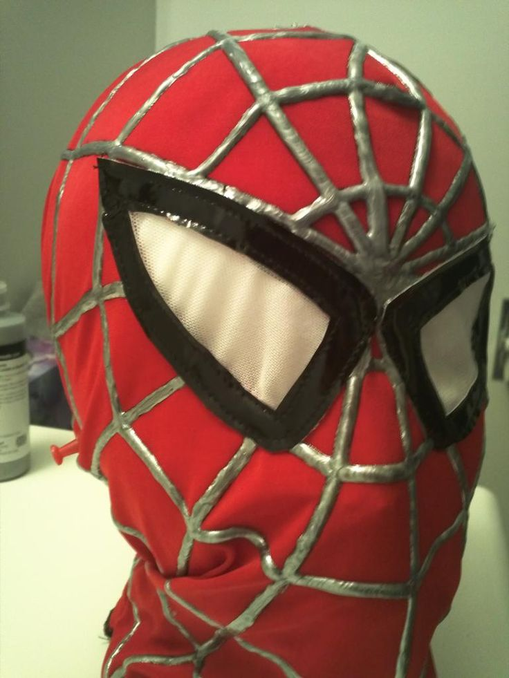 ...the hacksmith: Spiderman replica costume part 1 - The mask