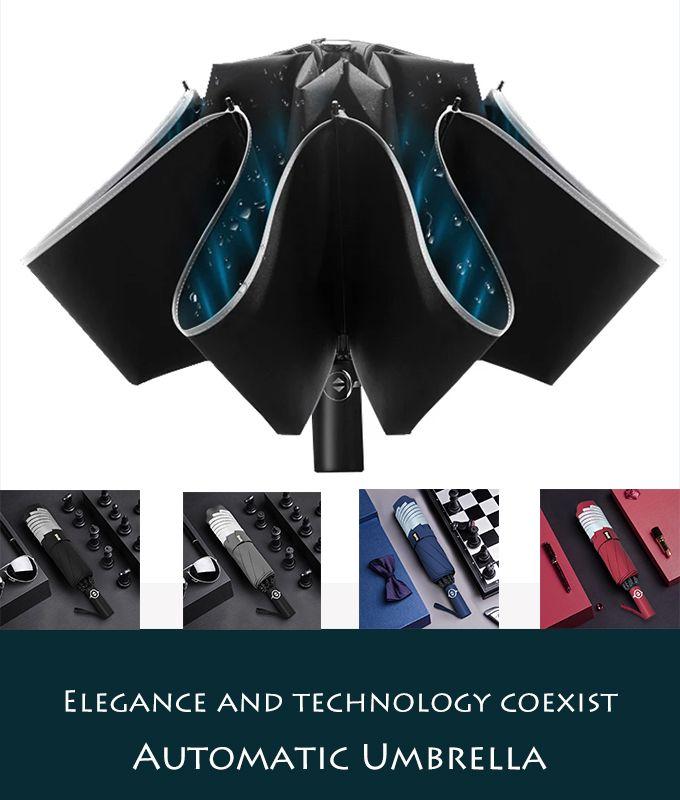 Hot Sale #1🔥 Foldable Automatic Umbrella Protec…
