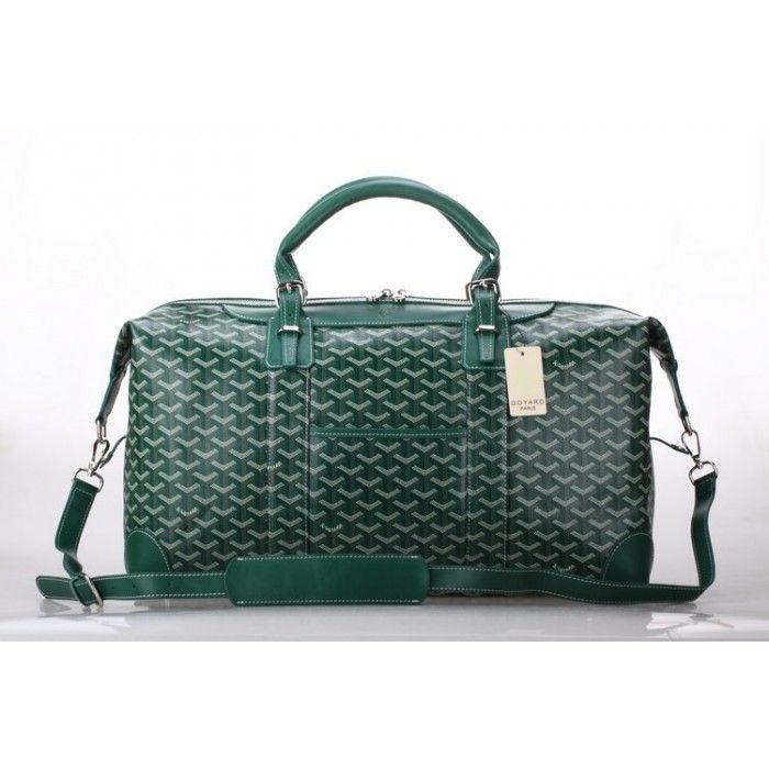 Goyard Luggage Boeing Travelling Bag Green [Goyard-0722] - $229.00