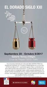 Colombia estará presente en Parcours Bijoux 2017 con dos exposiciones y una performance, donde mostrará su arte a través de la joyería contemporánea.