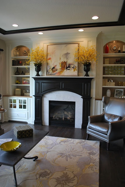 25+ best ideas about Painted Mantle on Pinterest ...