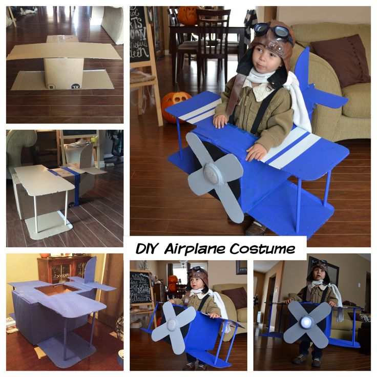 DIY Airplane Costume                                                       …