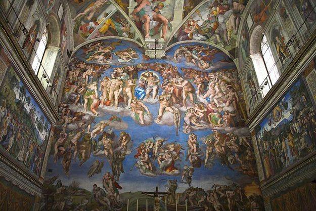 Michael Angelo's Amazing Paintings On The Sistine Chapel c1wk18