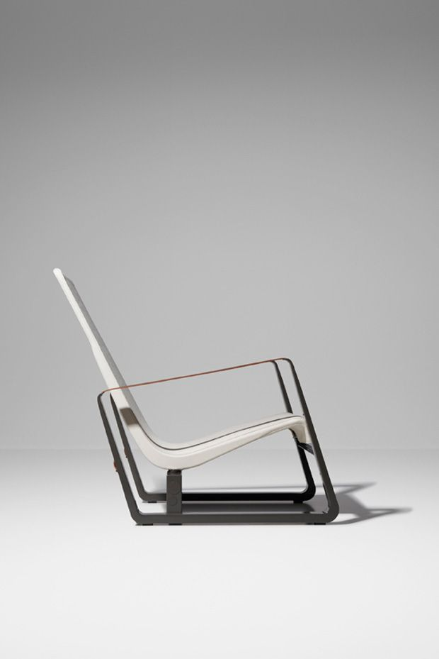 [Jean Prouvé, Cité, 1930] This chair looks incredibly modern, airy, even space age... even for today. To think it was designed way back in 1930, 80 years ago, is mind-boggling!