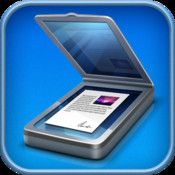 scanner app for new iPad and Iphone.  take pictures, Scan documents and it converts them into PDFs.  then you can share them thru drop box or evernote