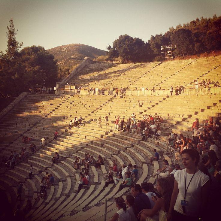 Sanctuary of Asclepius at Epidaurus (Ἐπίδαυρος)