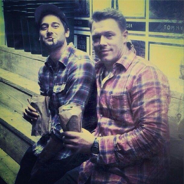 Diego Klattenhoff and Ryan Eggold. The Blacklist