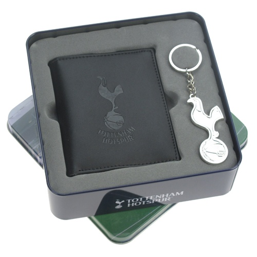 Personalised Tottenham Wallet And Keyring