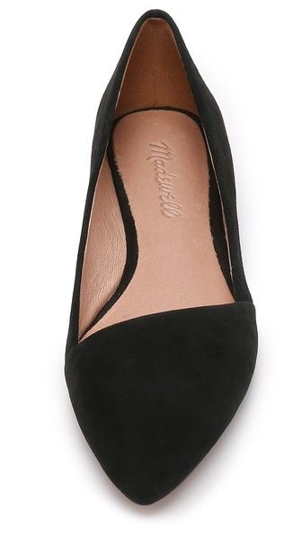 Madewell The Mira Suede Flats