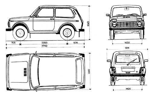 tutorials3D.com - Blueprints: Lada Niva