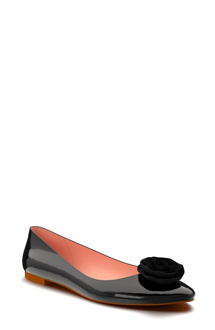 Shoes of Prey Patent Leather Ballet Flat (Women) available at #Nordstrom