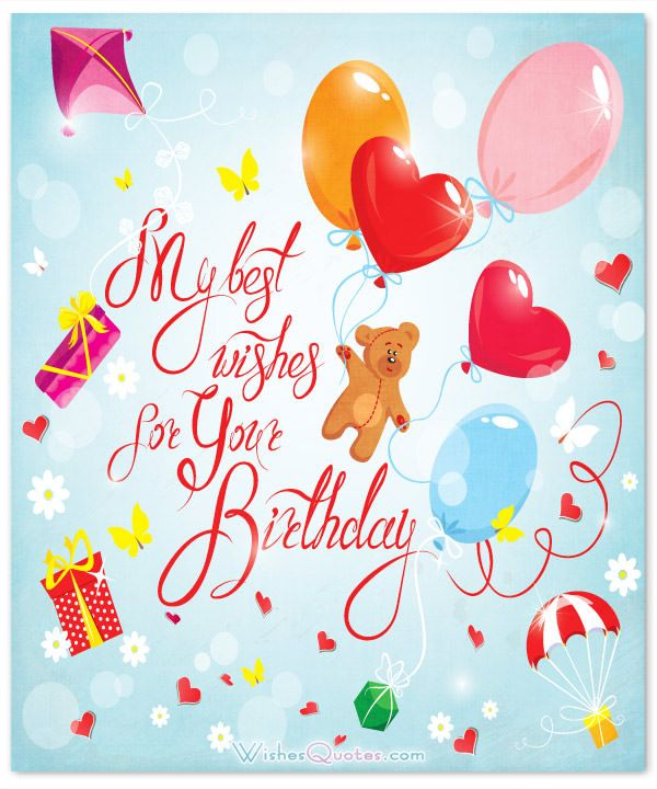 100 Sweet Birthday Messages, Adorable Birthday Cards