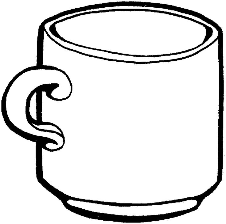 28 best images about drinks coloring pages on pinterest for Cup picture for colouring