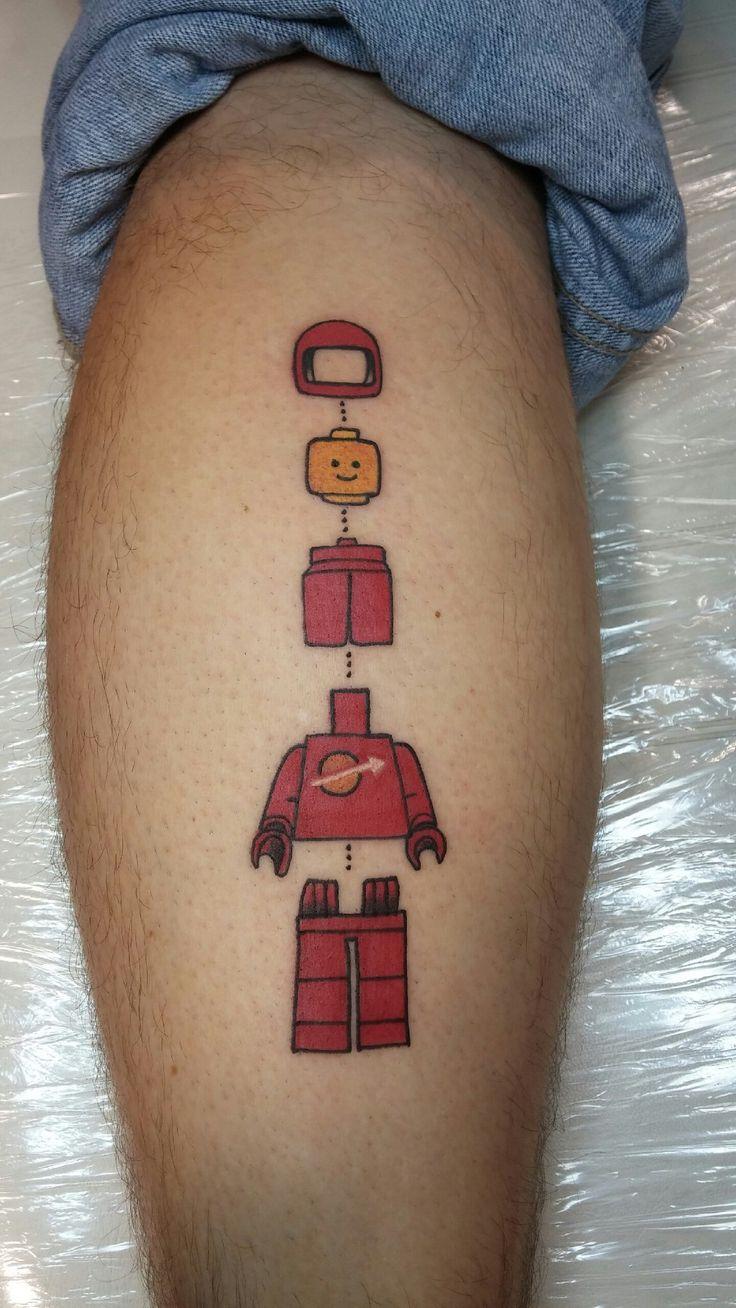 LEGO Minifig Tattoo