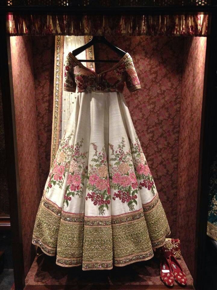 Devine designer collection from the Sabyasachi store in Delhi
