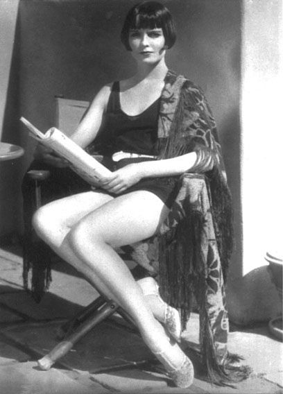 Louise Brooks - studied dance for 8 years and was a member of the Denishawn Dance Company for 2 years