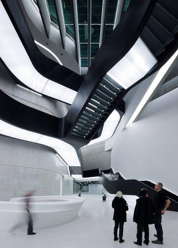Музей современного искусства в Риме. Zaha Hadid Architects. Заха Хадид