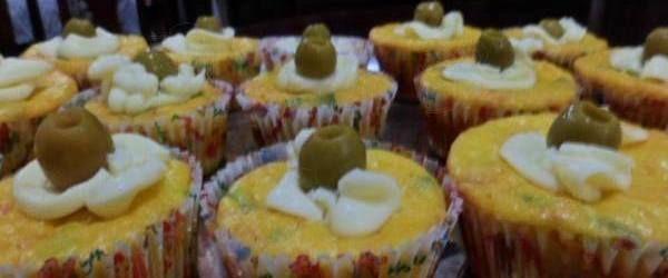 Foto - Receita de Cupcake salgado fofinho