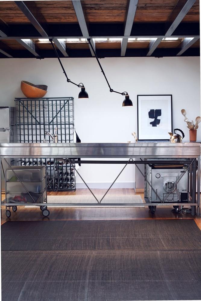 302 from Lampe Gras. Design by Bernard-Albin Gras. #lighting #office #industrial