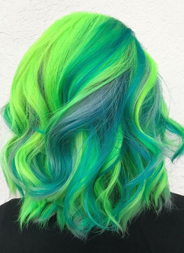 82 Amazing Hair Color Ideas To Be Fashion Icon This Summer | Hair color crazy, Vivid hair color ...