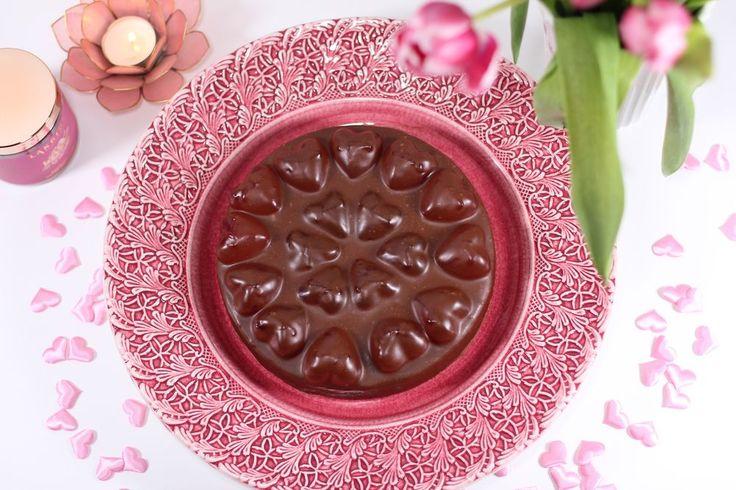 Alla hjärtans dag-kladdkaka - CakeByMary.blogg.se