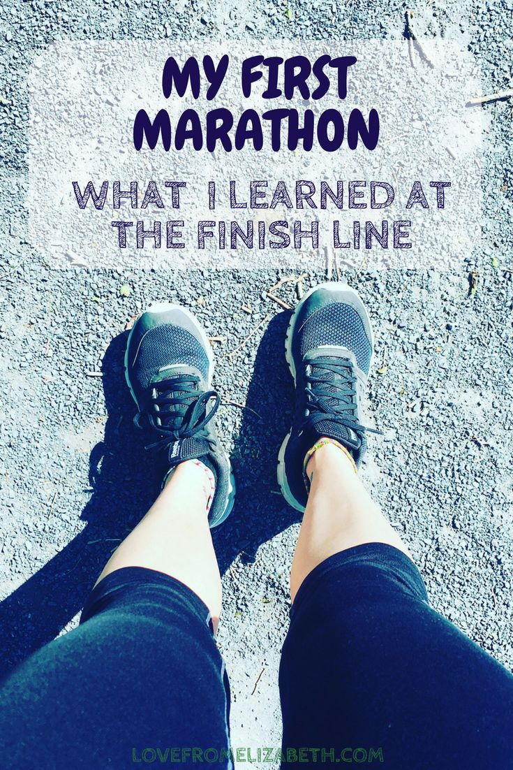 Life Lessons From My First Marathon | Running my first marathon was a dream five years in the making. But why did race day feel so anti-climactic? Here's why I think it's important turn your focus from the destination and enjoy the journey.