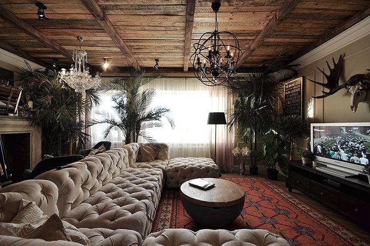 Amazing apartment of designer Artemy Saranin in Perm, Russia | PUFIK. Beautiful Interiors. Online Magazine