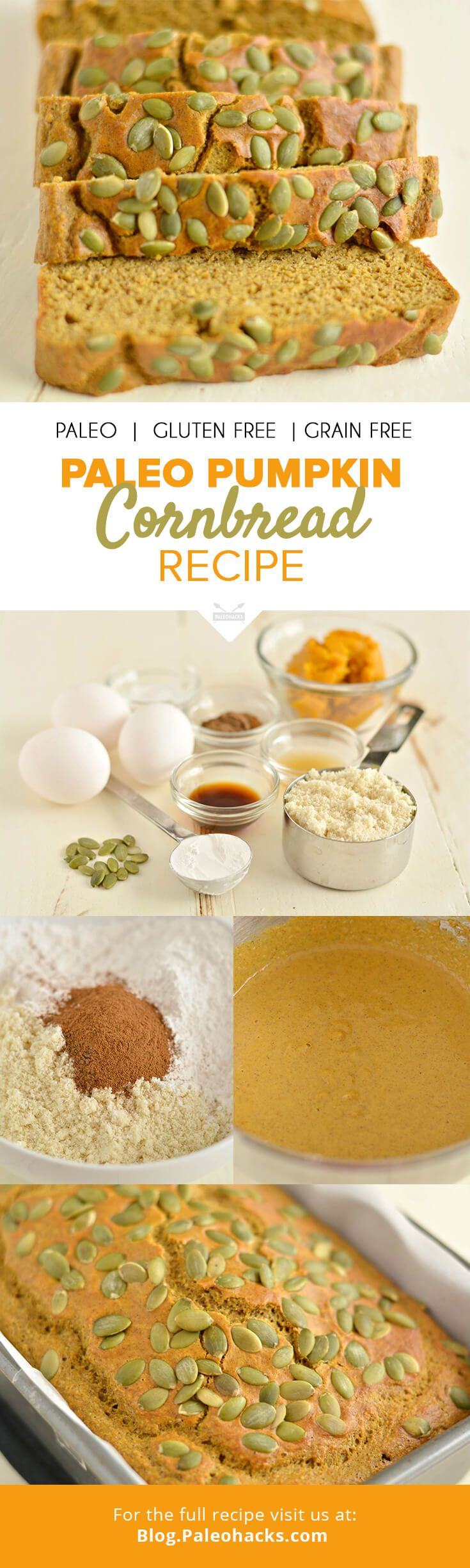 246 best eat like a cavewoman paleo recipes images on pinterest pumpkin cornbread paleo foodpaleo forumfinder Choice Image