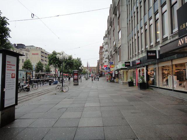 """A """"Avenida"""" em Gotemburgo, Suécia."""