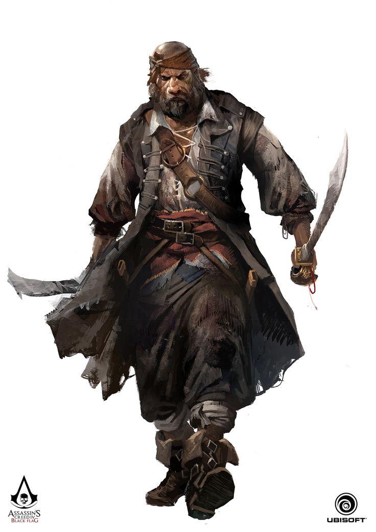 ArtStation - Assassin's Creed IV: Black Flag - Character concept, TEO YONG JIN