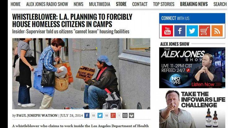 Η ΜΟΝΑΞΙΑ ΤΗΣ ΑΛΗΘΕΙΑΣ: Στην βόρεια Καρολίνα συλλαμβάνουν τους άστεγους κα...