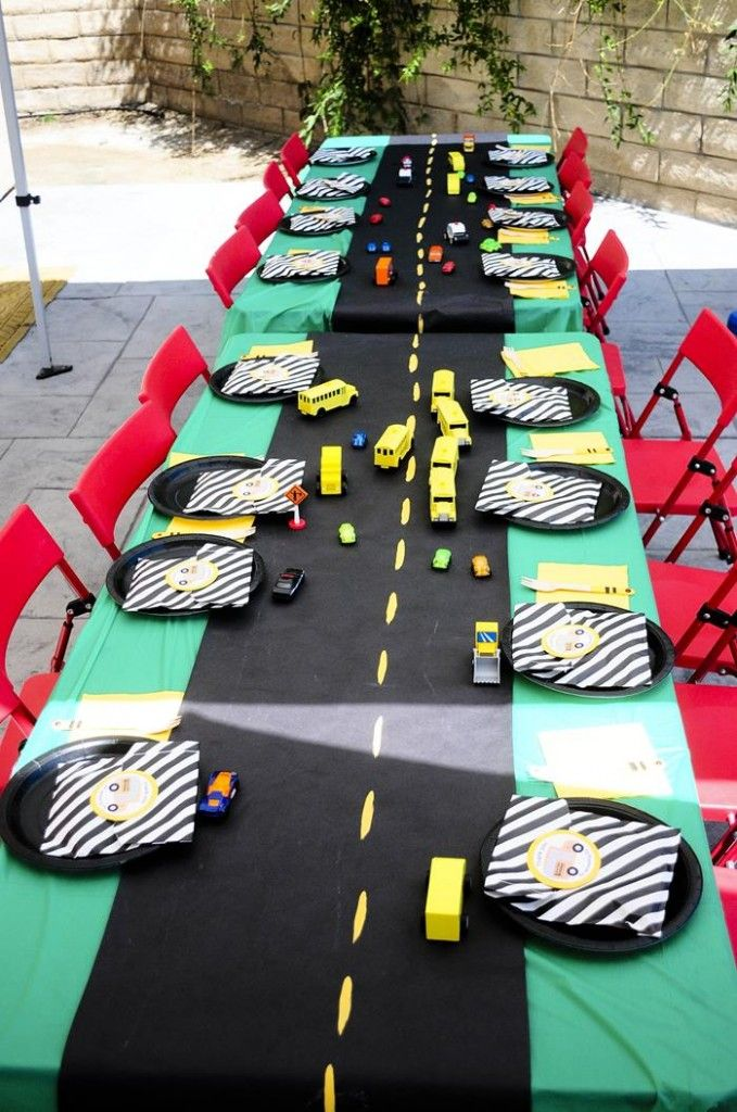 Wheels on the Bus Party from www.MarigoldMom.com