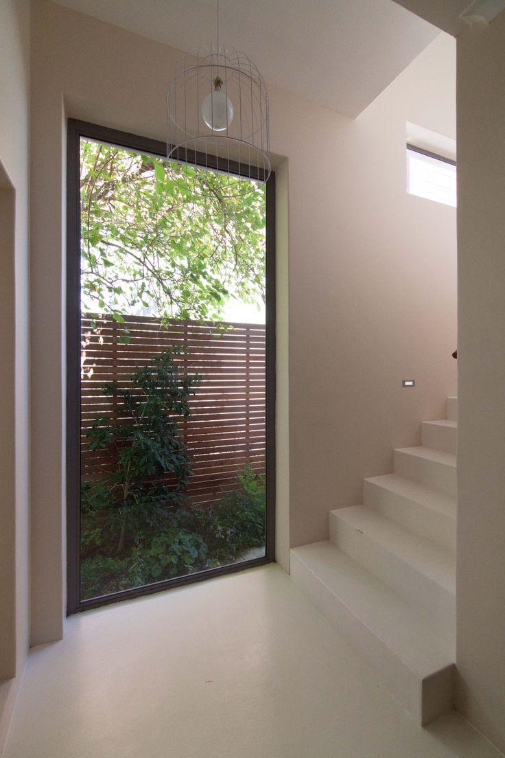 stair window garden @ shirley wayne architect www.swarchitect.co.za