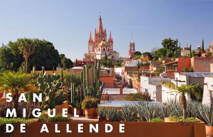 Si estás pensando en salir el fin de semana, no dudes en pasarlo en San Miguel de Allende, pueblo mágico en el que puedes encontrar tiendas de diseño, hoteles boutique y una amplia selección de restaurantes. Estas son nuestras recomendaciones.