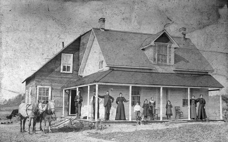'Shannon Farm House'  1897  ::  in Masham, Quebec  ::  in the collection of the Gatineau Valley Historical Society