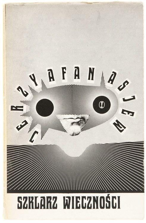 book cover design by daniel mroz, 1974
