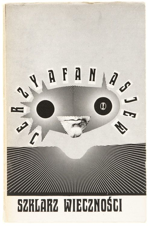 book cover design by daniel mroz, 1974