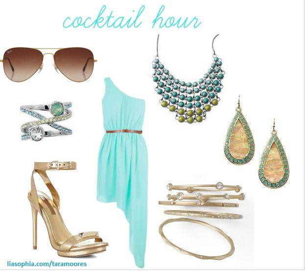 Summer cocktail hour!!  SO ADORABLE!!  accessorized by lia Sophia jewelry!!  www.liasophia.com/sites/rosepolicastro