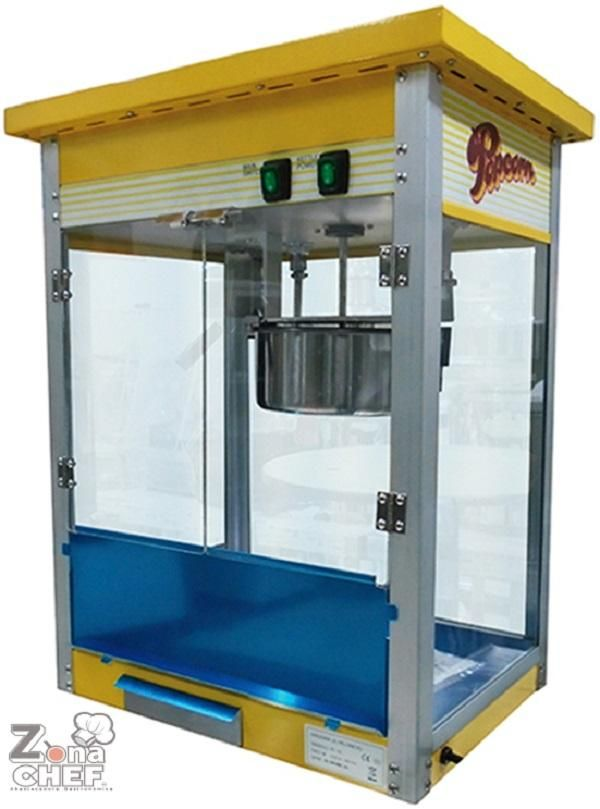 Maquina de palomitas MIGSA 250 gr – ZONACHEF